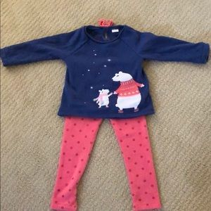 Gymboree sweat outfit